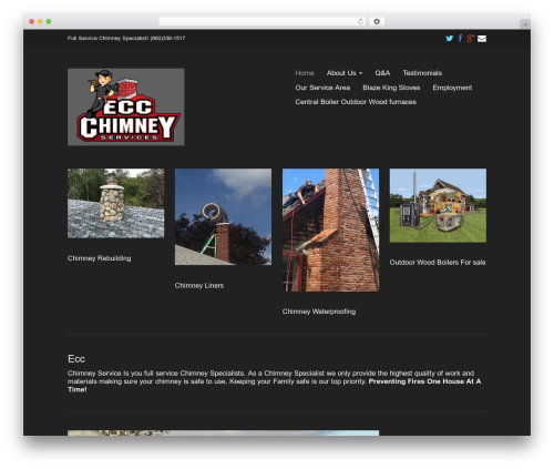 WordPress theme Eclipse Pro 3 - eccchimneyservice.com