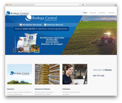 WordPress theme Trade - bodegacentralecuador.com