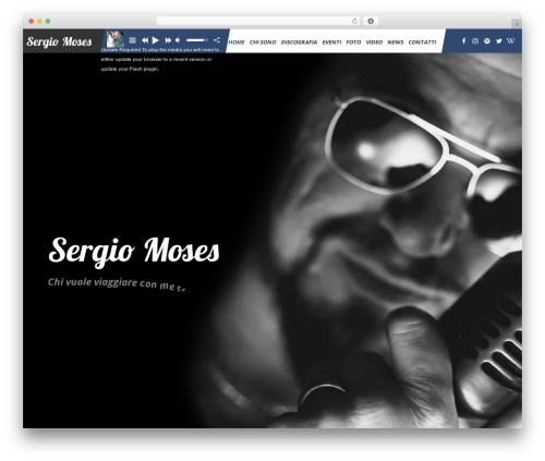 WP template TheArtist - sergiomoses.com
