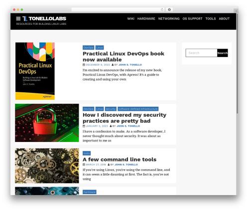 AppSetter best WordPress theme - tonellolabs.com