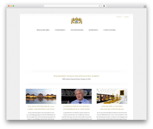 Best WordPress template Chameleon - royal-branding.com