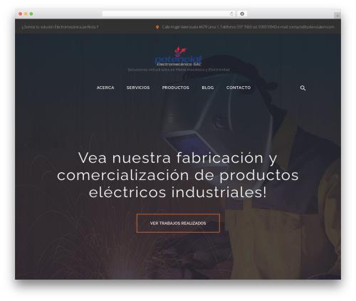 Caldera theme WordPress - potencialem.com