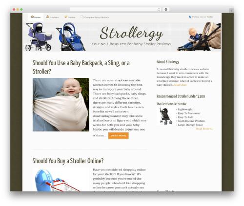 WordPress azondealalert plugin - strollergy.com