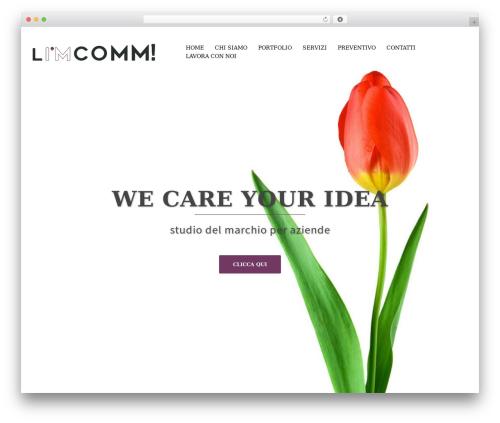 Sydney free WordPress theme - limcomm.com