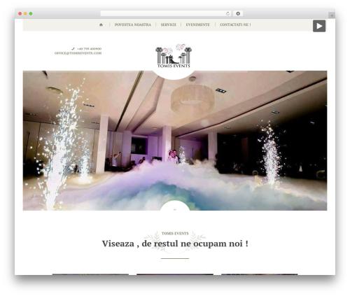 Theme WordPress Royal Event - tomisevents.com