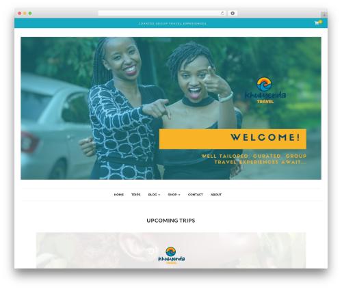 Chloe WordPress blog theme - khukyenda.com