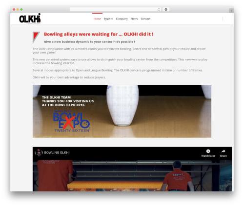 Eden best WordPress template - olkhi.com