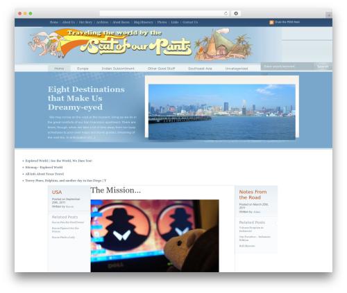 OpenAir top WordPress theme - seatsofourpants.com