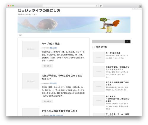 stinger3ver20131023 template WordPress - tomjohnsonforassembly.com