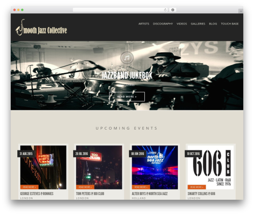 Theme WordPress Berliner - smoothjazzcollective.com