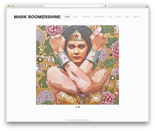 WordPress template Freelo - markboomershine.com