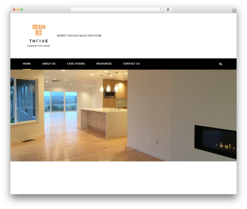 WordPress template Solid Construction - thriveconstruction.group