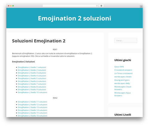 GeneratePress top WordPress theme - soluzioniemojination.com