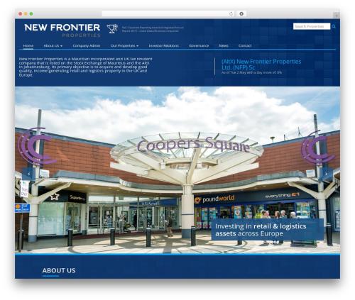 Roots Starter Theme best WordPress theme - newfrontierprop.com