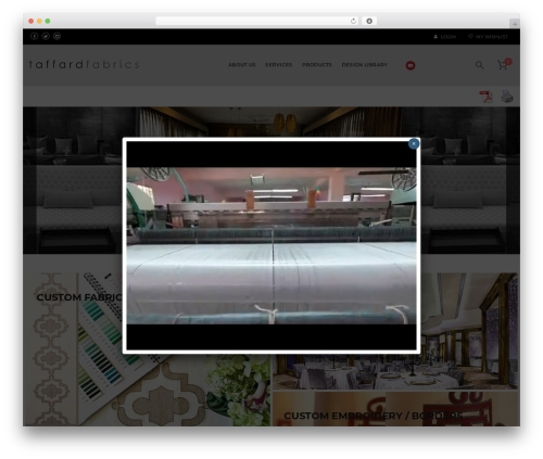 WordPress template DMCS - taffard.com