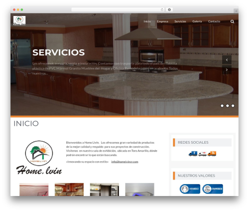BizPlus template WordPress free - homelivincr.com