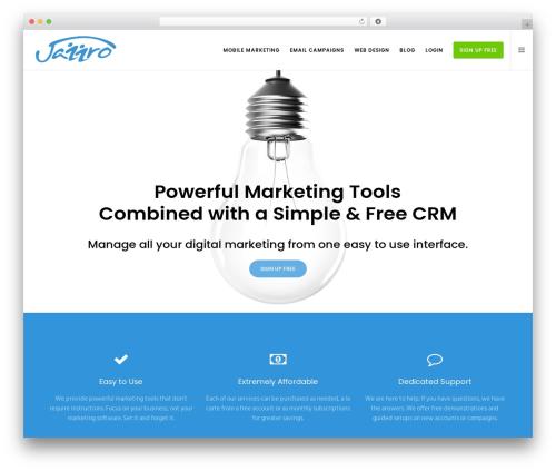 Movedo template WordPress - jazzro.com