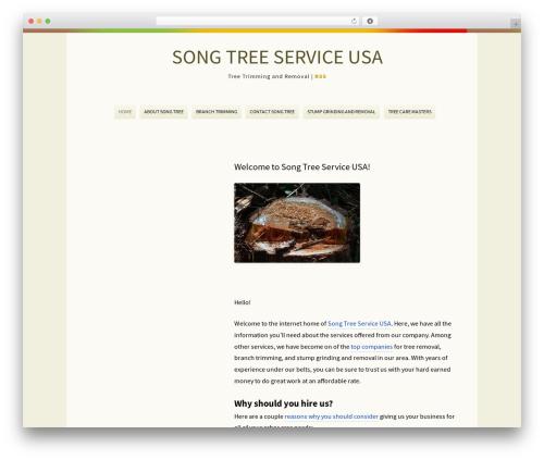 Rockers theme WordPress - songtreeusa.com