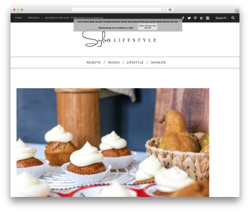SimpleMag WordPress blog template - sylvislifestyle.com
