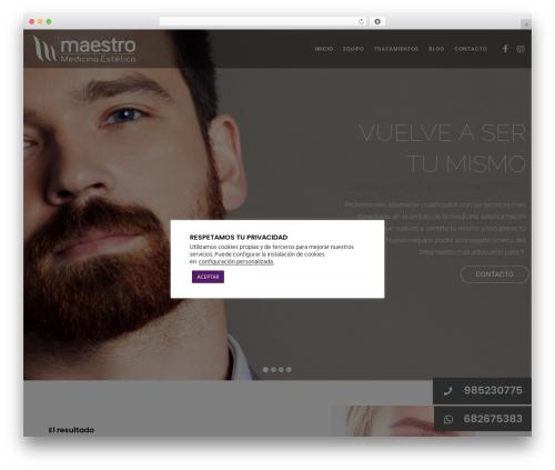 Template WordPress Movedo - medicinaesteticamaestro.com