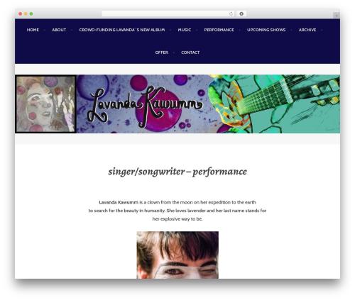 Argent WordPress theme - kawumm.rocks