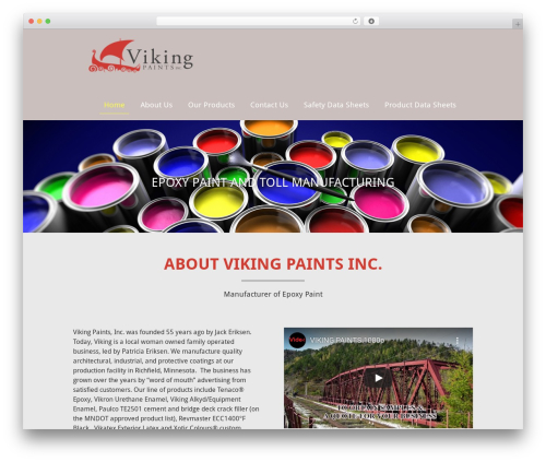 Client Theme WP theme - vikingpaints.com