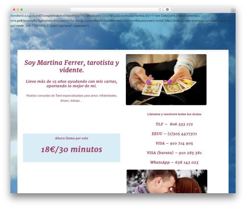 Responsive WordPress template free download - tarotmartinaferrer.com