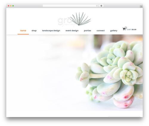 shopstudio theme WordPress - grogreendesign.com