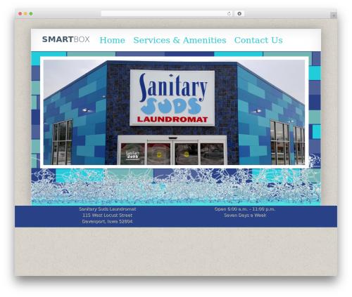 Smartbox WordPress page template - sanitarysuds.com