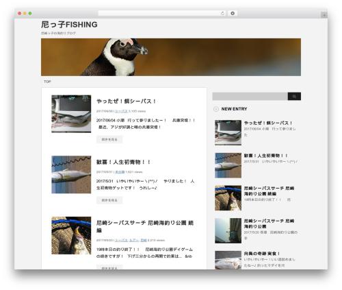 stinger3ver20131023 best WordPress template - seafishing-w.com