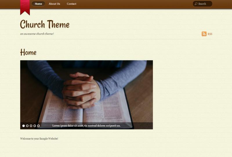 WordPress template Notes