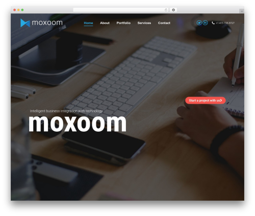 WordPress theme The7 - moxoom.com