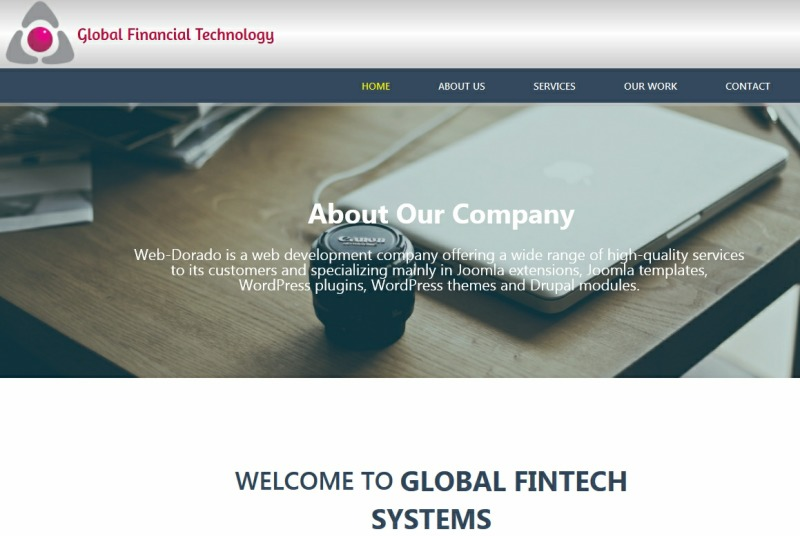 globalfinance best WordPress template