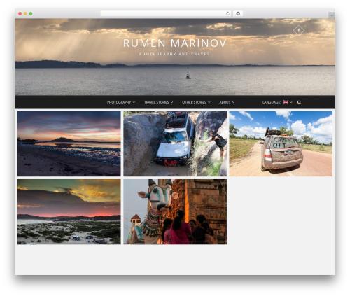 Pixgraphy best WordPress gallery - rumenmarinov.com