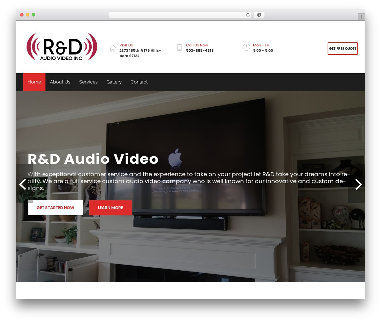 Restore WordPress shopping theme - rdaudiovideo.com