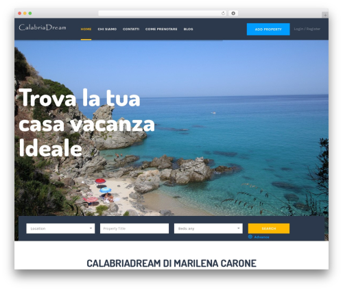 ApusHome theme WordPress - calabriadream.com