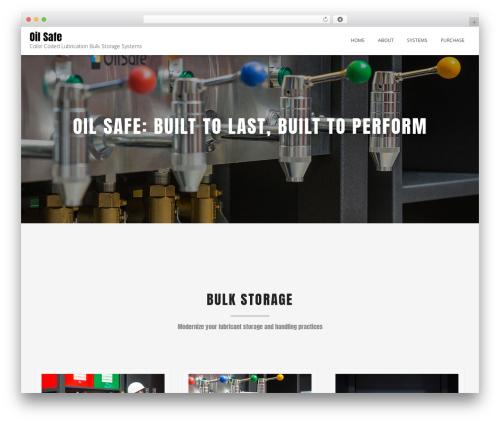 Best WordPress theme Blended - oilsafebulkstorage.com