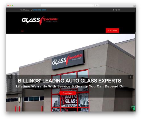 Betheme template WordPress - auto-glass-specialist.com