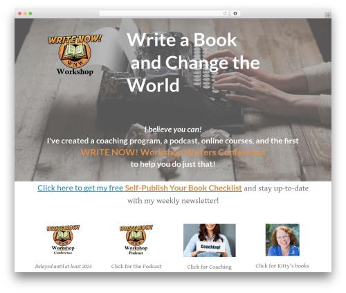 Boss. best WordPress template - writenowworkshop.com