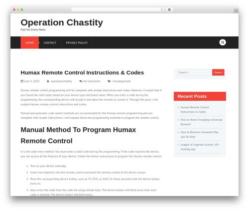 FinRelief best WordPress magazine theme - operationchastity.com