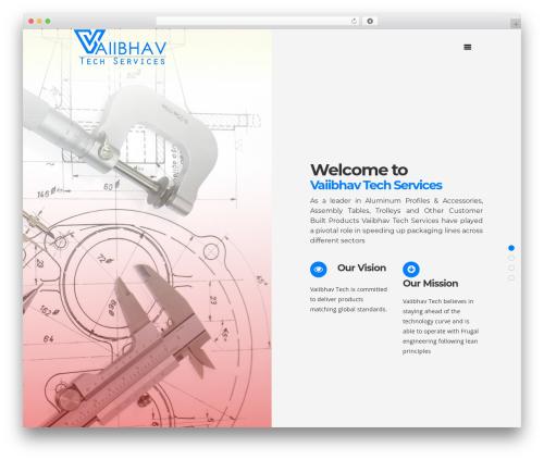 Pitch theme WordPress - vaiibhav.com