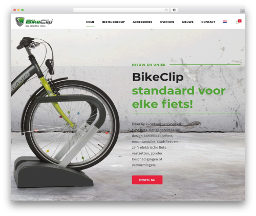 Shopscape WordPress store theme - getbikeclip.com