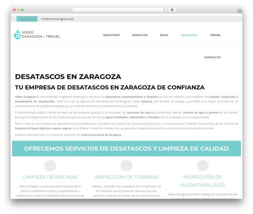 Theme WordPress Creativ - hidrozaragoza.com