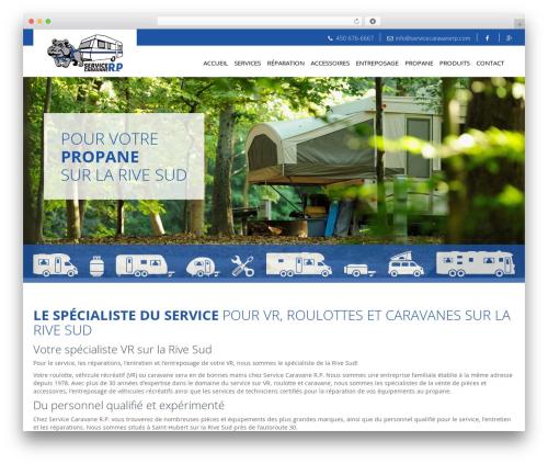 WordPress template Agence Oz Demo - servicecaravanerp.com