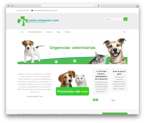WordPress theme Total (shared on wplocker.com) - centroveterinariocapri.com
