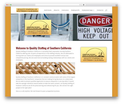WordPress website template Divi - constructiontemps.com