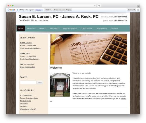 Best WordPress theme Customized - cpaslk.com