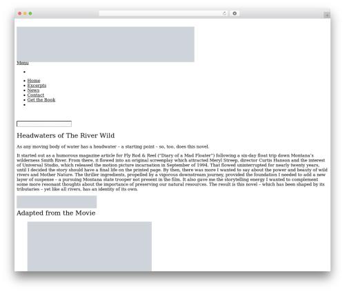 Booker premium WordPress theme - theriverwildbook.com
