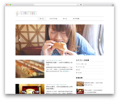Child theme WordPress - cometubu.com