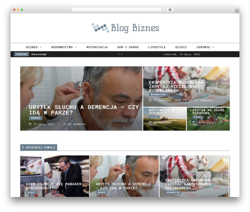 FlowNews theme WordPress - blogbiznes.pl
